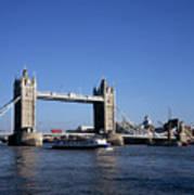 Tower Bridge, London Print by Lothar Schulz