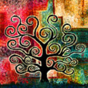 Tree Of Life Print by Jaison Cianelli