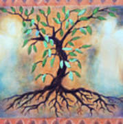 Tree Of Life Print by Kathy Braud