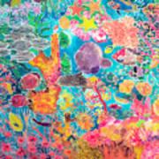 Tropical Coral Print by Hilary Simon