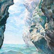 Trouee 2 Print by Muriel Dolemieux
