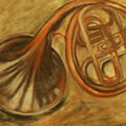 Trumpet Print by Rashmi Rao