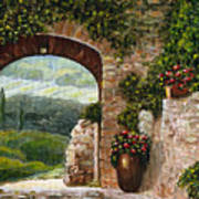 Tuscan Arch Print by Italian Art