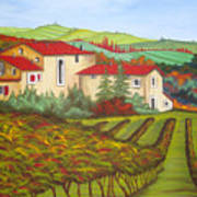 Tuscany Print by Amanda Schambon
