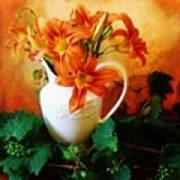 Tuscany Bouquet Print by Marsha Heiken