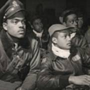 Tuskegee Airmen Of The 332nd Fighter Print by Everett