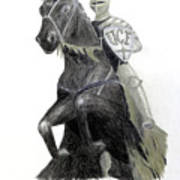 Ucf Knights Print by Frederic Kohli