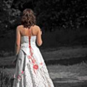 Ukrainian Bride Print by Evelina Kremsdorf