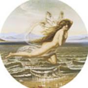 Under The Sea Print by Joseph Noel Paton