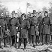 Union Generals Of The Civil War  Print by War Is Hell Store