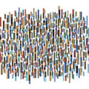 Urban Abstract Print by Frank Tschakert