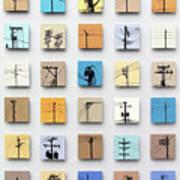 Urban Sentinels Print by Jason Messinger