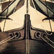 Uss Constellation Print by Lisa Russo