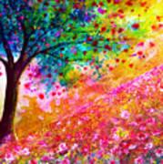 Valentine Tree Print by Ann Marie Bone
