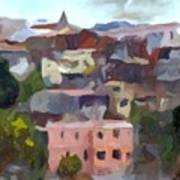 Valparaiso - Chile Print by Carlos Camus