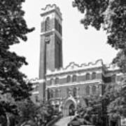 Vanderbilt University Kirkland Hall Print by University Icons