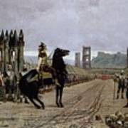 Vercingetorix Before Caesar Print by Henri Paul Motte