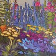 Vic Park Garden Print by Carol Hama Chang