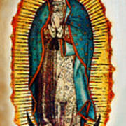 Virgen De Guadalupe Print by Bibi Romer