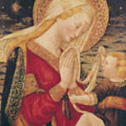 Virgin And Child  Print by Neri di Bicci
