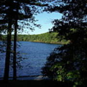 Walden Pond End Of Summer Print by Lawrence Christopher
