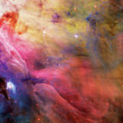 Warmth - Orion Nebula Print by The  Vault - Jennifer Rondinelli Reilly