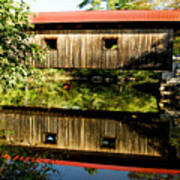Warner Covered Bridge Print by Greg Fortier