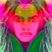 Warrior Goddess IIII Print by Devalyn Marshall