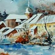 Watercolor Chassepierre Print by Pol Ledent