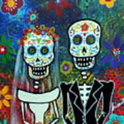 Wedding Muertos Print by Pristine Cartera Turkus