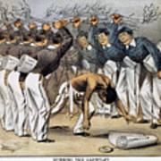 West Point Cartoon, 1880 Print by Granger