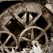 Wheels Of Time Print by Gabriela Insuratelu