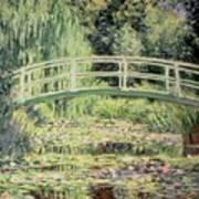White Nenuphars Print by Claude Monet