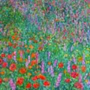 Wildflower Current Print by Kendall Kessler