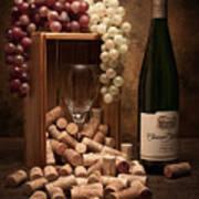 Wine Corks Still Life II Print by Tom Mc Nemar
