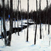 Winter Day Print by Laura Tasheiko