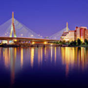 Zakim Twilight Print by Rick Berk