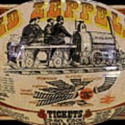 Zeppelin Express Work B Print by David Lee Thompson