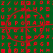 Zodiac Killer Code And Sign 20130213 Print by Wingsdomain Art and Photography