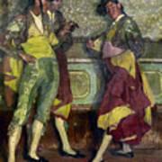 Zuloaga: Bullfighters Print by Granger