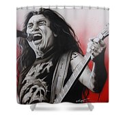 'arhhhhhhhh' Shower Curtain by Christian Chapman Art