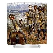 Battle Of Fredericksburg Shower Curtain by American School