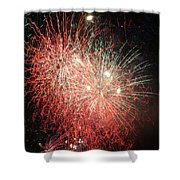 Fireworks Shower Curtain by Alan Hutchins