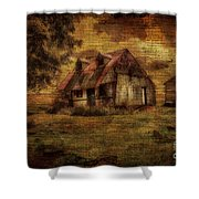 Just Biding Time Shower Curtain by Lois Bryan