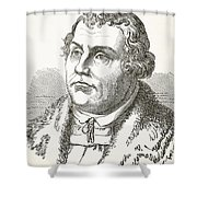 Martin Luther  Shower Curtain by English School