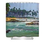 Sri Lanka Shower Curtain by Steve Harrington
