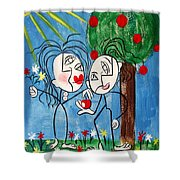 The Power Of Persuasion  Shower Curtain by Anthony Falbo