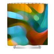 Tree Light 1 Shower Curtain by Amy Vangsgard