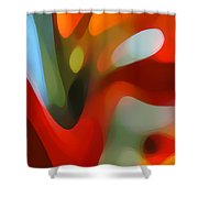 Tree Light 2 Shower Curtain by Amy Vangsgard