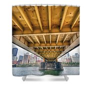 0309 Pittsburgh 4 Shower Curtain by Steve Sturgill